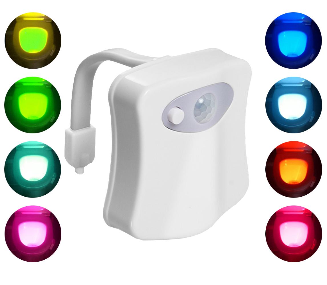 Podświetlenie Wc Lampka Led Czujnik Ruchu światła