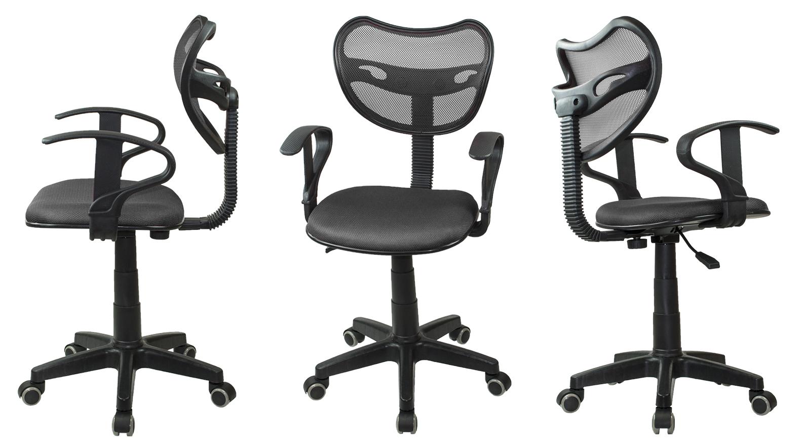 Fotel biurowy wentylowany obrotowy Model: PS89 Kolor: Czarny